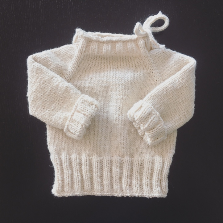 d56d5488c Simple Baby Raglan Sweater – Fox on an Island
